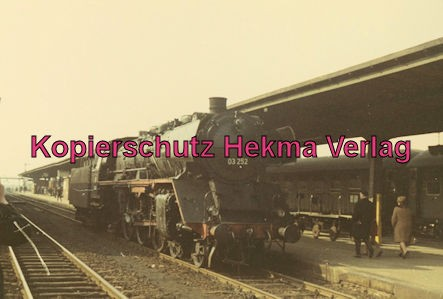 Pacific Abschiedsfahrt - BW Mönchengladbach - Lok 03 252