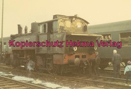 Pacific Abschiedsfahrt - Lok der Georgsmarienhütter Eisenbahn