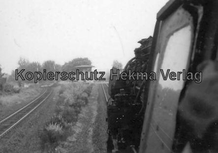 Rheingoldzug von Düsseldorf nach Arnheim - Bahnhof Kranenburg