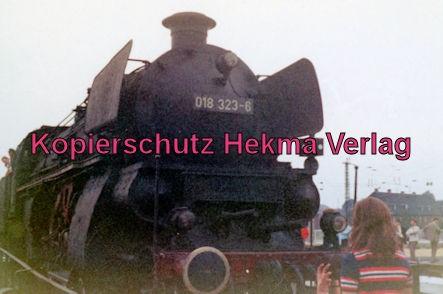 Rheingoldzug von Düsseldorf nach Arnheim - BW Neuß (Rhein) - Lok 018 323-6