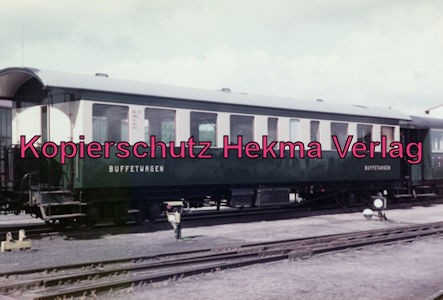 Bahnhof Bruchhausen-Vilsen - Buffetwagen
