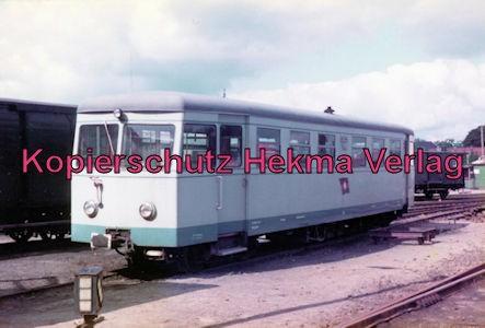 Bahnhof Bruchhausen-Vilsen - Triebwagen der einstigen Inselbahn Juist