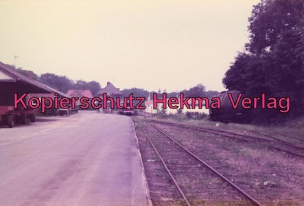 Buxtehude-Harsefeld - Bahnhof Harsefeld-Süd - Lokschuppen