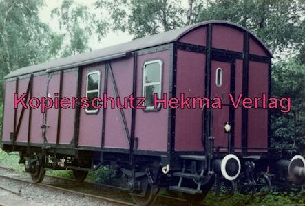 Buxtehude-Harsefeld - Bahnhof Harsefeld-Süd - Güterwagen