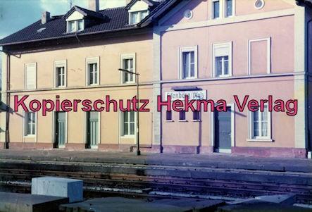 Eistalbahn Grünstadt-Enkenbach - Bahnhof Eisenberg - Bahnhofsgebäude