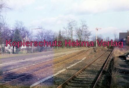 Eistalbahn Grünstadt-Enkenbach - Bahnhof Eisenberg - Bahnhofsgelände