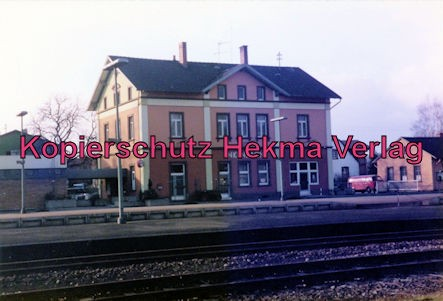 Eistalbahn Grünstadt-Enkenbach - Bahnhof Enkenbach - Bahnhofsgebäude