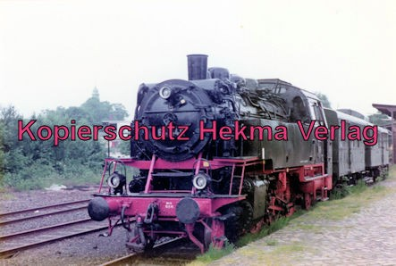 Bahnhof Glückstadt - Lok 64 446