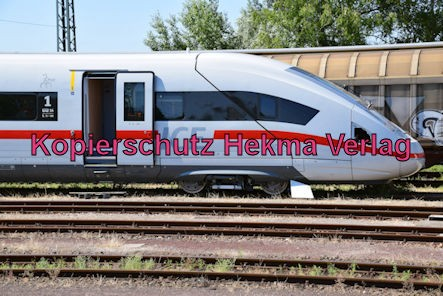 Wörth am Rhein Eisenbahnbahn - Bahnhof Wörth am Rhein - Schulungszug ICE 4 - Wagen 0812 030-6