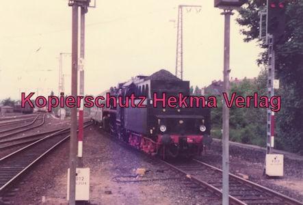 Sonderzug nach Königstein i. T. - Bahnhof Frankfurt-Höchst - Lok 50 685 und Lok 01 118