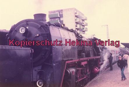 Sonderzug nach Königstein i. T. - Bahnhof Frankfurt-Höchst - Lok 01 118