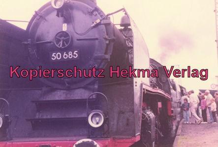 Sonderzug nach Königstein i. T. - Bahnhof Frankfurt-Höchst - Lok 50 685