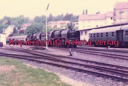 Sonderzug nach Königstein i. T. - Bahnhof Königstein - Lok 50 685 und Lok 01 118