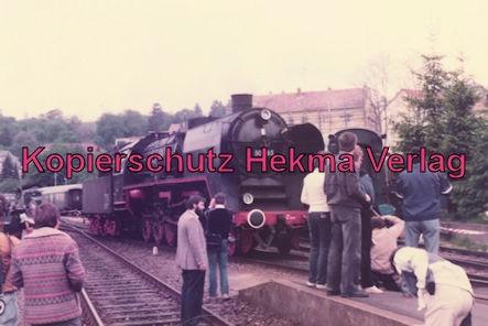 Sonderzug nach Königstein i. T. - Bahnhof Königstein - Lok 50 685