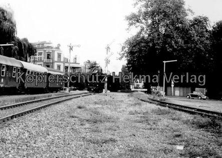 Künzelsau Eisenbahn - Bahnhof Künzelsau - Lok 038 499-0