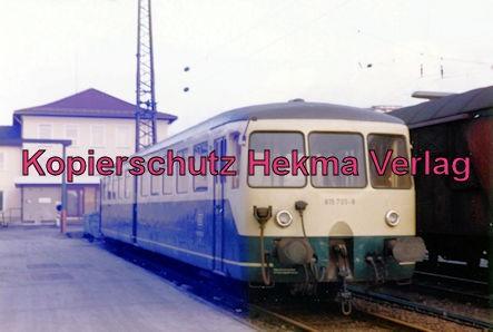 Kaiserslautern Eisenbahn - Bw Kaiserslautern - Lok 815 705-9