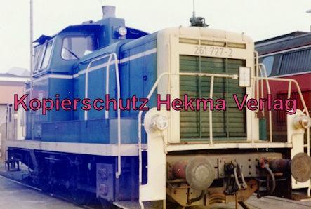 Kaiserslautern Eisenbahn - Bw Kaiserslautern - Lok 261 727-2