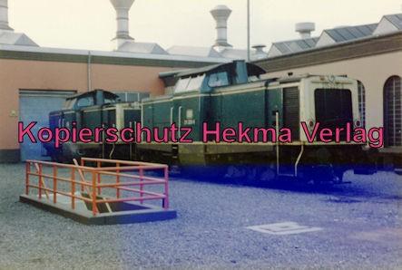 Kaiserslautern Eisenbahn - Bw Kaiserslautern - Diesellok