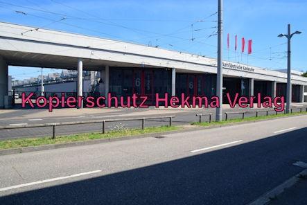 Karlsruhe Straßenbahn - Straßenbahndepot Gerwigstraße