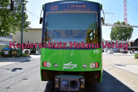 Karlsruhe Straßenbahn - Straßenbahndepot Gerwigstraße - Wagen 915