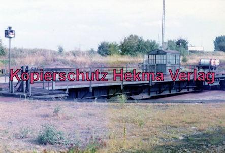 Landau/Pfalz Eisenbahn - Bw Landau - Drehscheibe