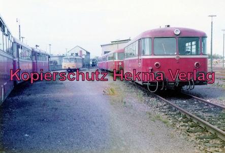 Landau/Pfalz Eisenbahn - Bw Landau - Schienenbus