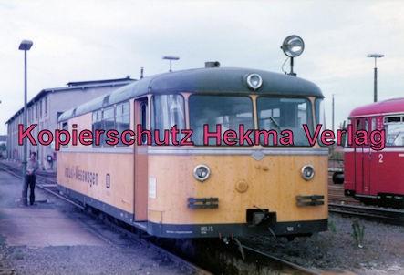 Landau/Pfalz Eisenbahn - Bw Landau - Indusi-Messwagen 724 002-1