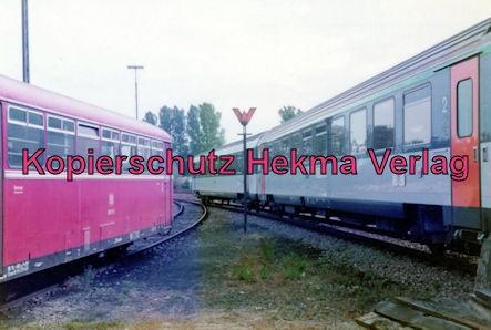 Landau/Pfalz Eisenbahn - Bw Landau - Französischer Truppenzug