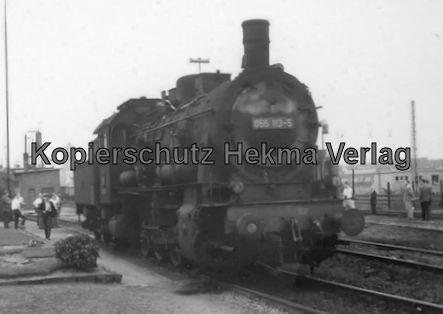 Rheingoldzug von Düsseldorf nach Arnheim - BW Neuß (Rhein) - Lok 055 113-5