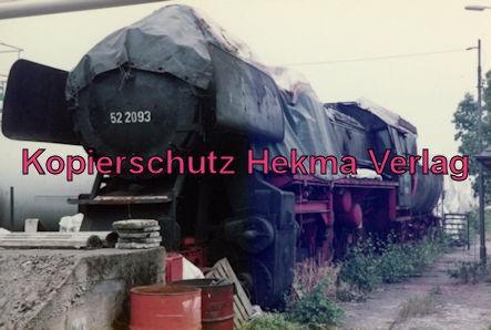 St. Wendel Eisenbahn - Bw St. Wendel - Lok 52 2093