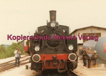 Tälestalbahn Nürtingen-Neuffen- Sofazügle - Bahnhof Neuffen - Lok 11