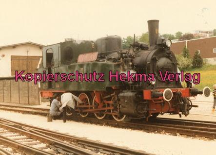 Tälestalbahn Nürtingen-Neuffen- Sofazügle - Bahnhof Neuffen - H.L.B. Lok 11