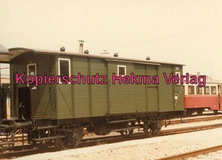 Tälestalbahn Nürtingen-Neuffen- Sofazügle - Bahnhof Neuffen - Packwagen
