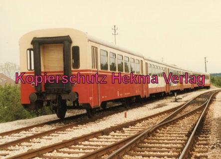 Tälestalbahn Nürtingen-Neuffen- Sofazügle - Bahnhof Neuffen - Sonderzug