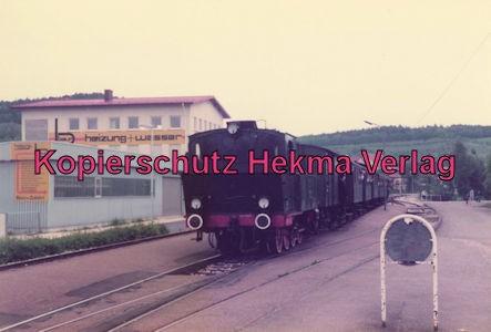 Tälestalbahn Nürtingen-Neuffen- Sofazügle - Bahnhof Frickenhausen - Lok 11
