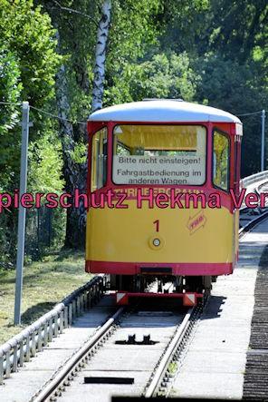 Turmbergbahn Karlsruhe - Talstation - Wagen 1