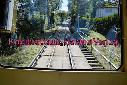 Turmbergbahn Karlsruhe - Talstation - Die Strecke