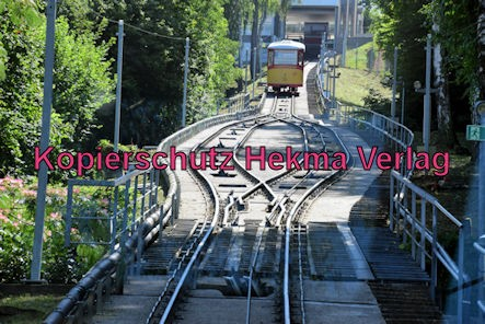 Turmbergbahn Karlsruhe - Ausweiche