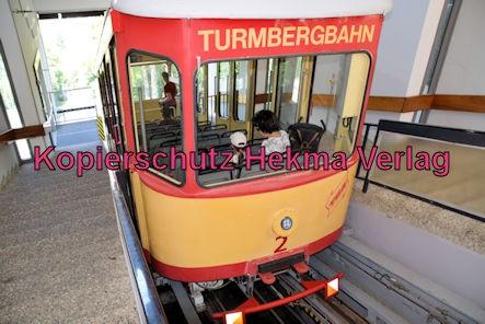 Turmbergbahn Karlsruhe - Bergstation - Wagen 2