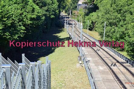 Turmbergbahn Karlsruhe - Strecke