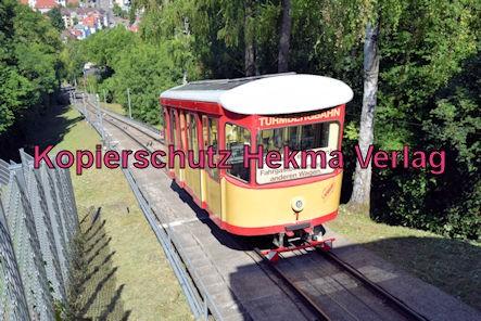 Turmbergbahn Karlsruhe - Wagen 1 auf der Strecke