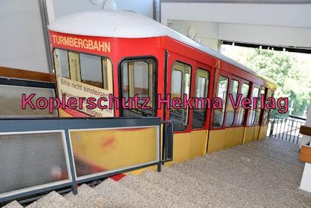 Turmbergbahn Karlsruhe - Bergstation - Wagen 1