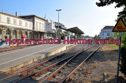 Bad Dürkheim Eisenbahn - Bahnhof Bad Dürkheim - Bahnhofsgelände
