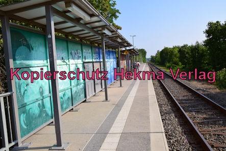 Bad Dürkheim Eisenbahn - Bahnhaltepunkt Bad Dürkheim-Trift - Bahnhofsgelände