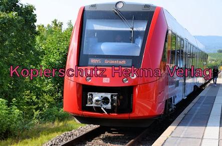 Bad Dürkheim Eisenbahn - Bahnhaltepunkt Bad Dürkheim-Trift - RB45 - 623 009