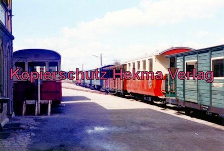 Jagsttalbahn - Sonderfahrt Möckmühl-Dörzbach - Bahnhof Dörzbach - Seidensticker Lok