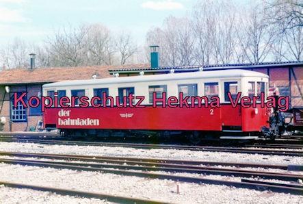 Jagsttalbahn - Sonderfahrt Möckmühl-Dörzbach - Bahnhof Möckmühl - Bahnladen
