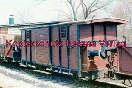 Jagsttalbahn - Sonderfahrt Möckmühl-Dörzbach - Bahnhof Möckmühl - Güterwagen