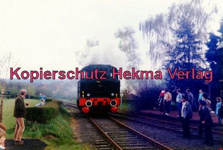 Sonderfahrt Merzig/Ost-Nunkirchen - Bahnhof Merzig/Ost - Lok 34 Losheim