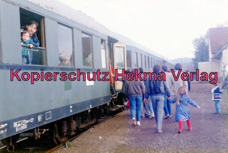 Sonderfahrt Merzig/Ost-Nunkirchen - Bahnhof Merzig/Ost - Wagen